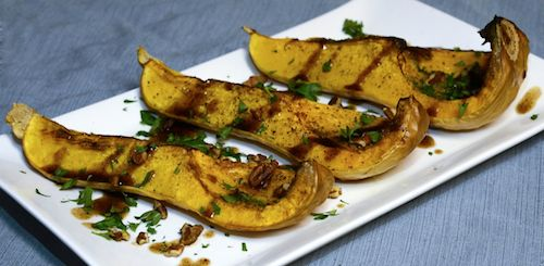 Butternut Squash with Balsamic Brown Butter