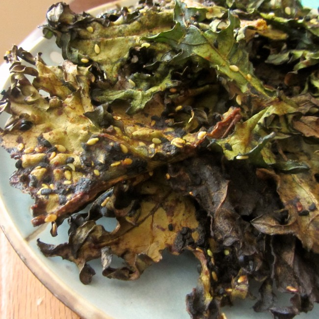 Indianese Kale Chips