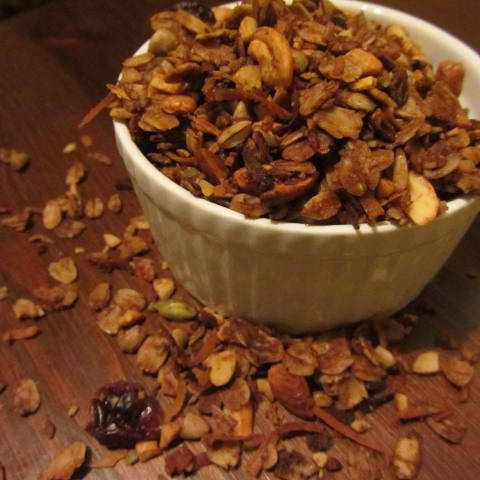 Nutty Molasses Granola