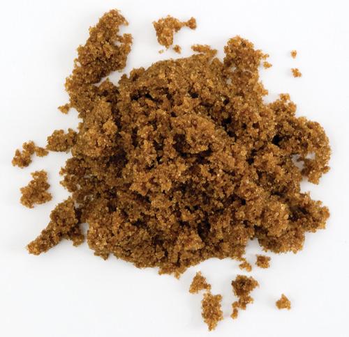 brown sugar como water