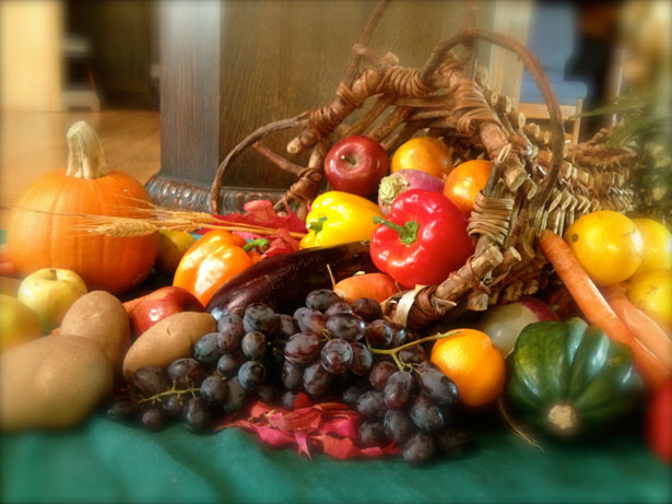 mindful eating thanksgiving como water