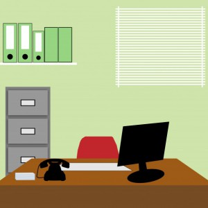 office-background-illustration